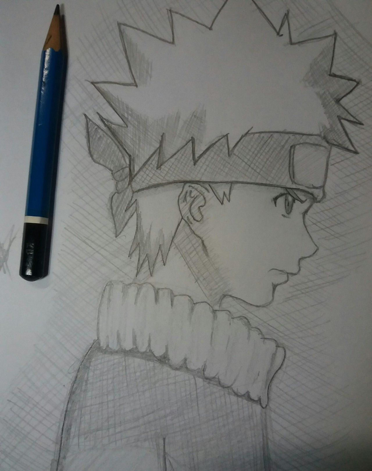 anime drawing step by step naruto