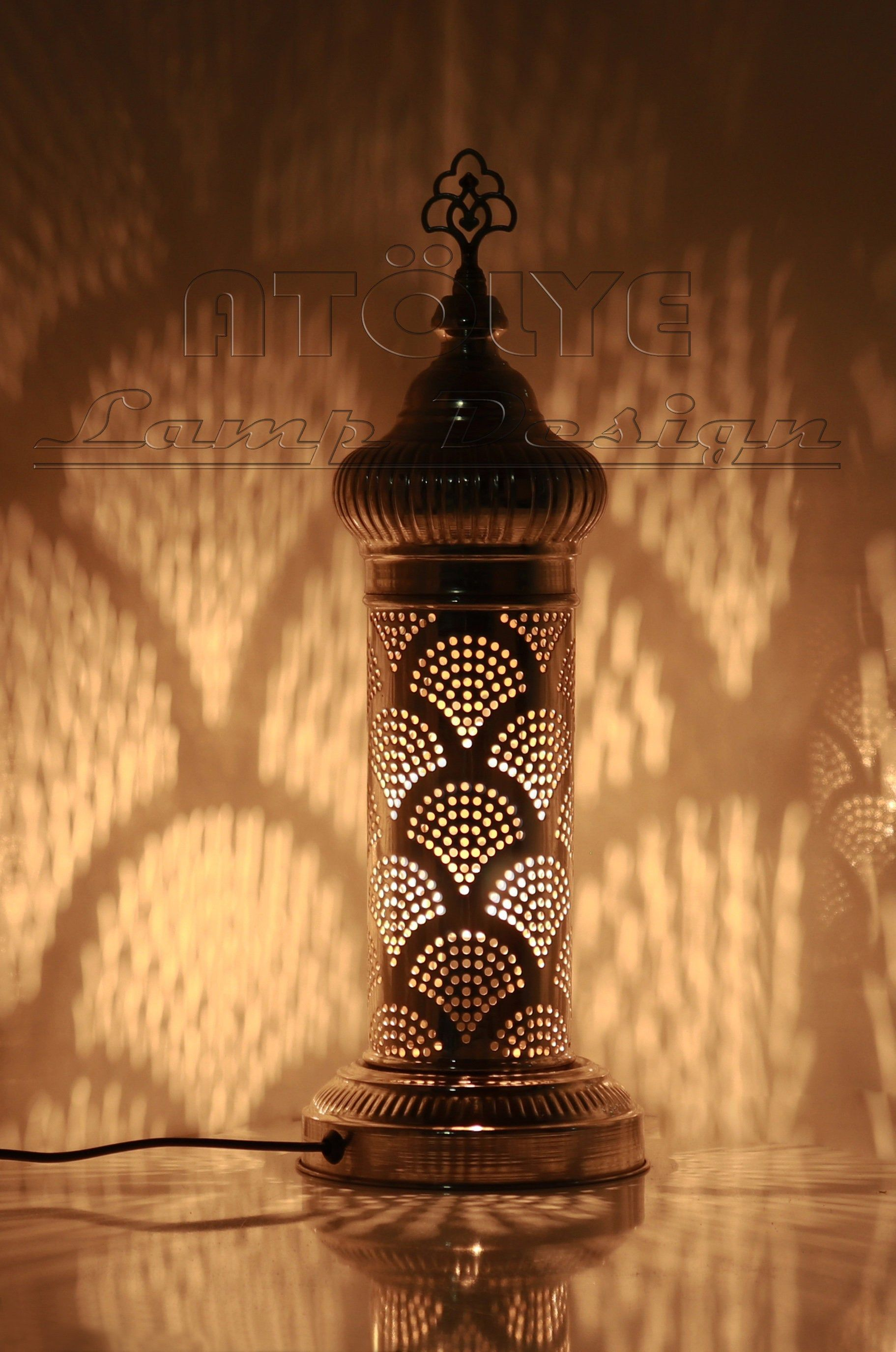 Turkish Table Lamp Moroccan Table Lamp Unique Lamp Bedside Lamp