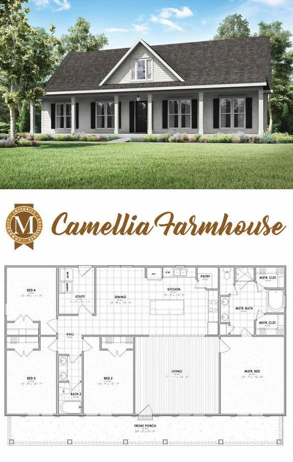 Living Sq Ft 1 920 Bedrooms 4 Baths 2 Lafayette Lake Charles Baton Rouge Louisiana House Plans Farmhouse New House Plans Dream House Plans
