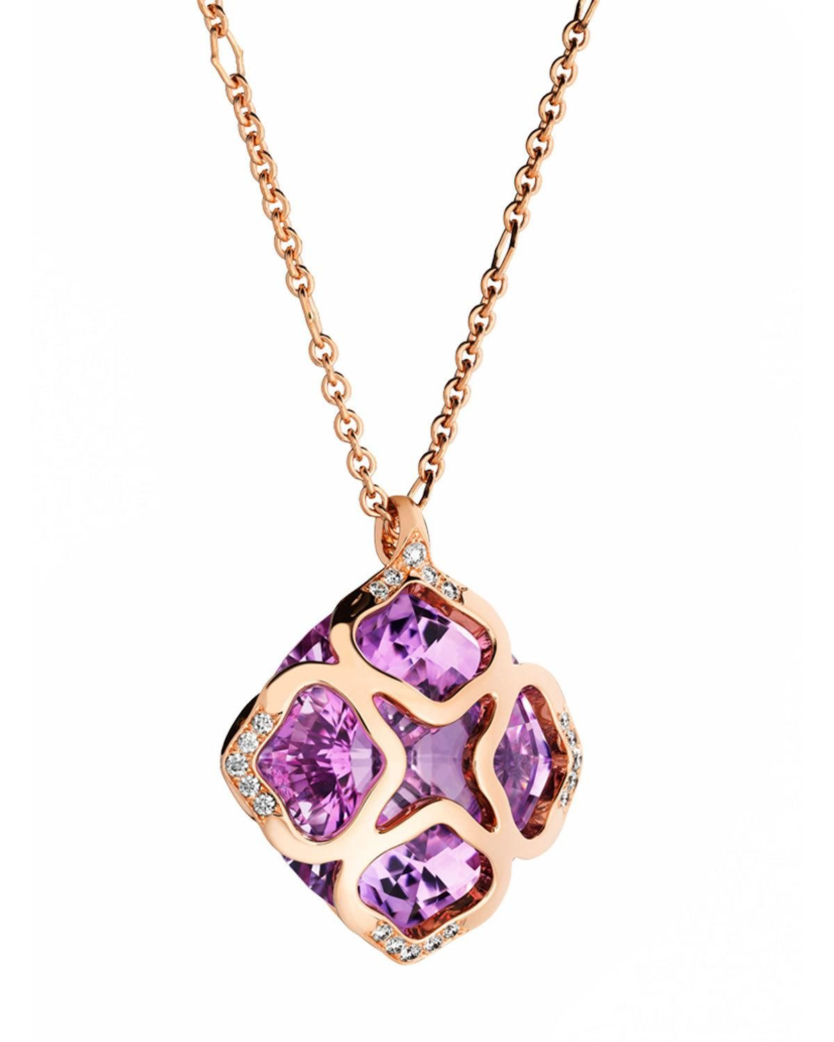 256f2673db06e Imperiale Amethyst Station Necklace with Diamonds | Products ...