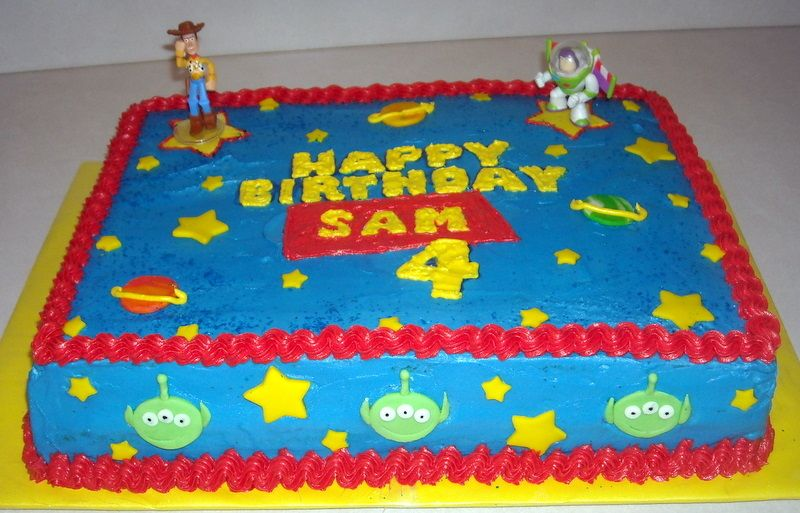 Toy Story Cake Client Wanted A Simple Themed Toy Story Birthday