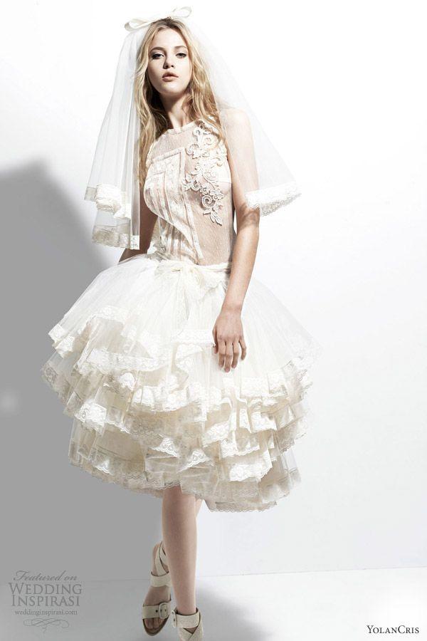 YolanCris 2013 Wedding Dresses Chelsea Girl Bridal Collection
