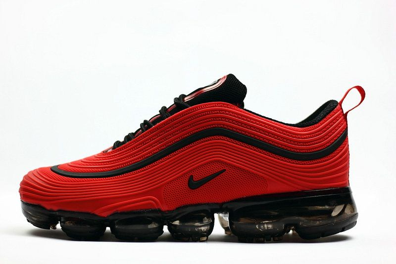 2aa8eada13e4 New 2018 Nike Air Max 97 VaporMax KPU Red Black
