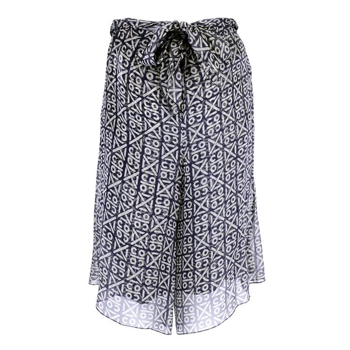 Vintage 90s CHANEL Silk Chiffon Shorts