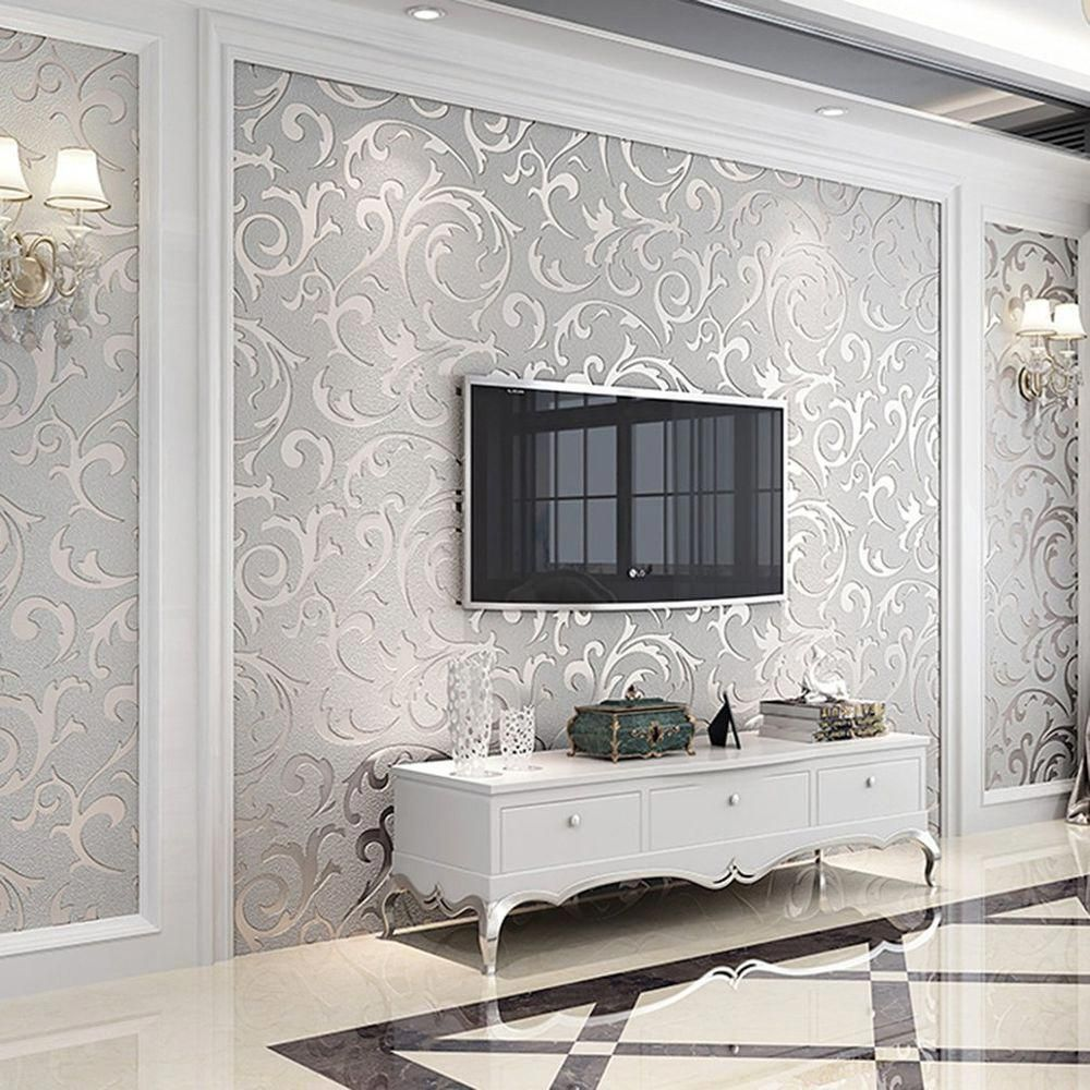 Features Beautiful Wall Paper That Would Look Stunning In