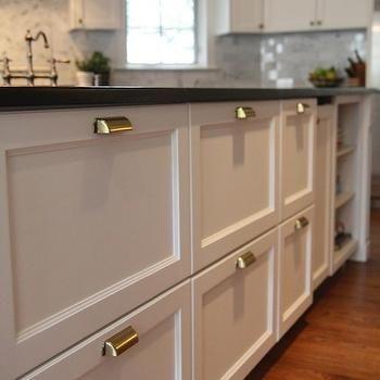 Brass Pulls, Traditional, kitchen, M E Beck Design Kitchen