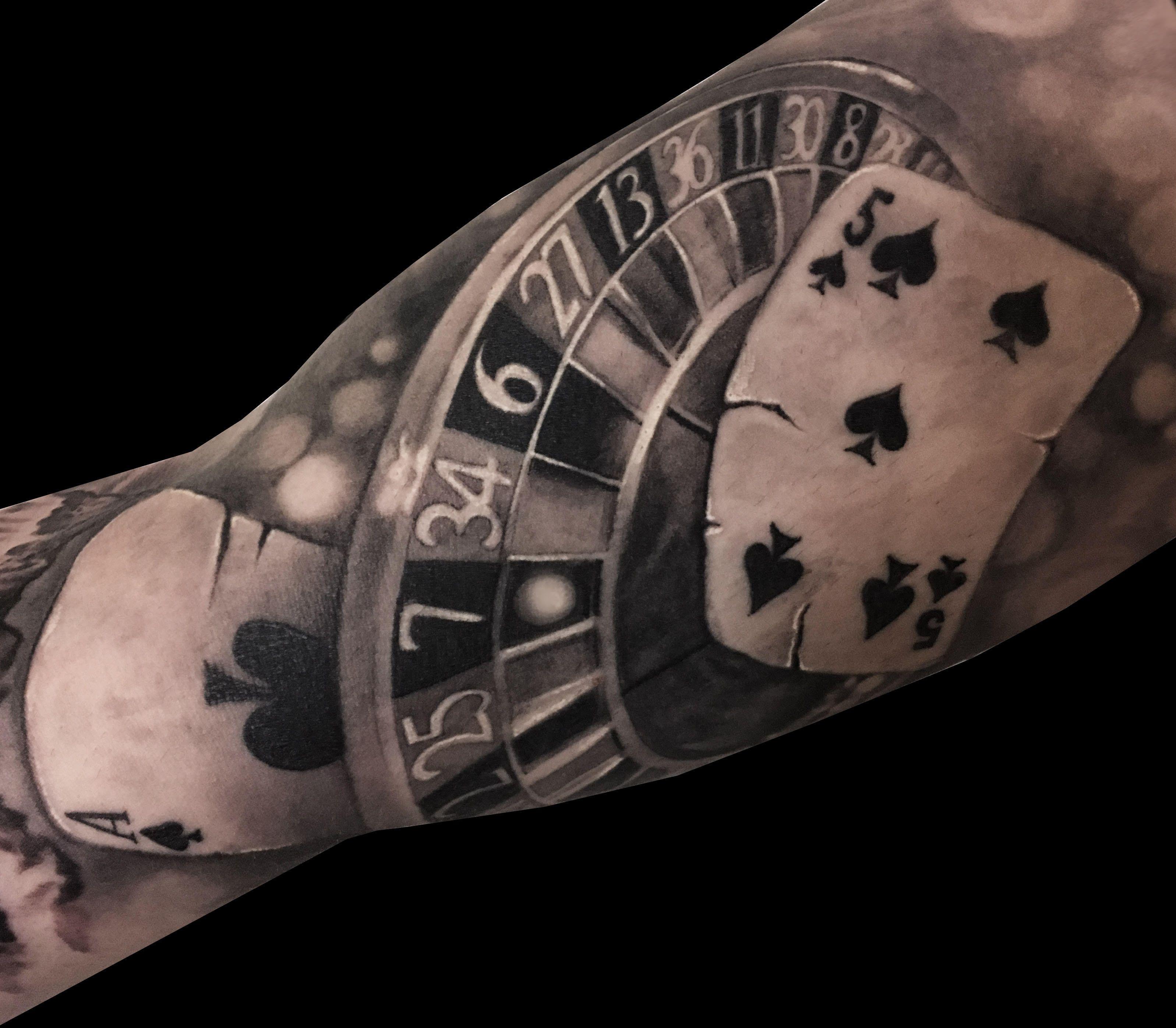 Pin De نشجف چققق En Pp Tatuaje Tatuajes De Poker Tatuajes Brazo