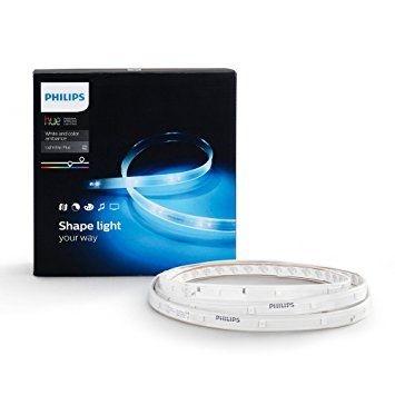 PHILIPS Hue LightStrip Plus with Amazon Alexa