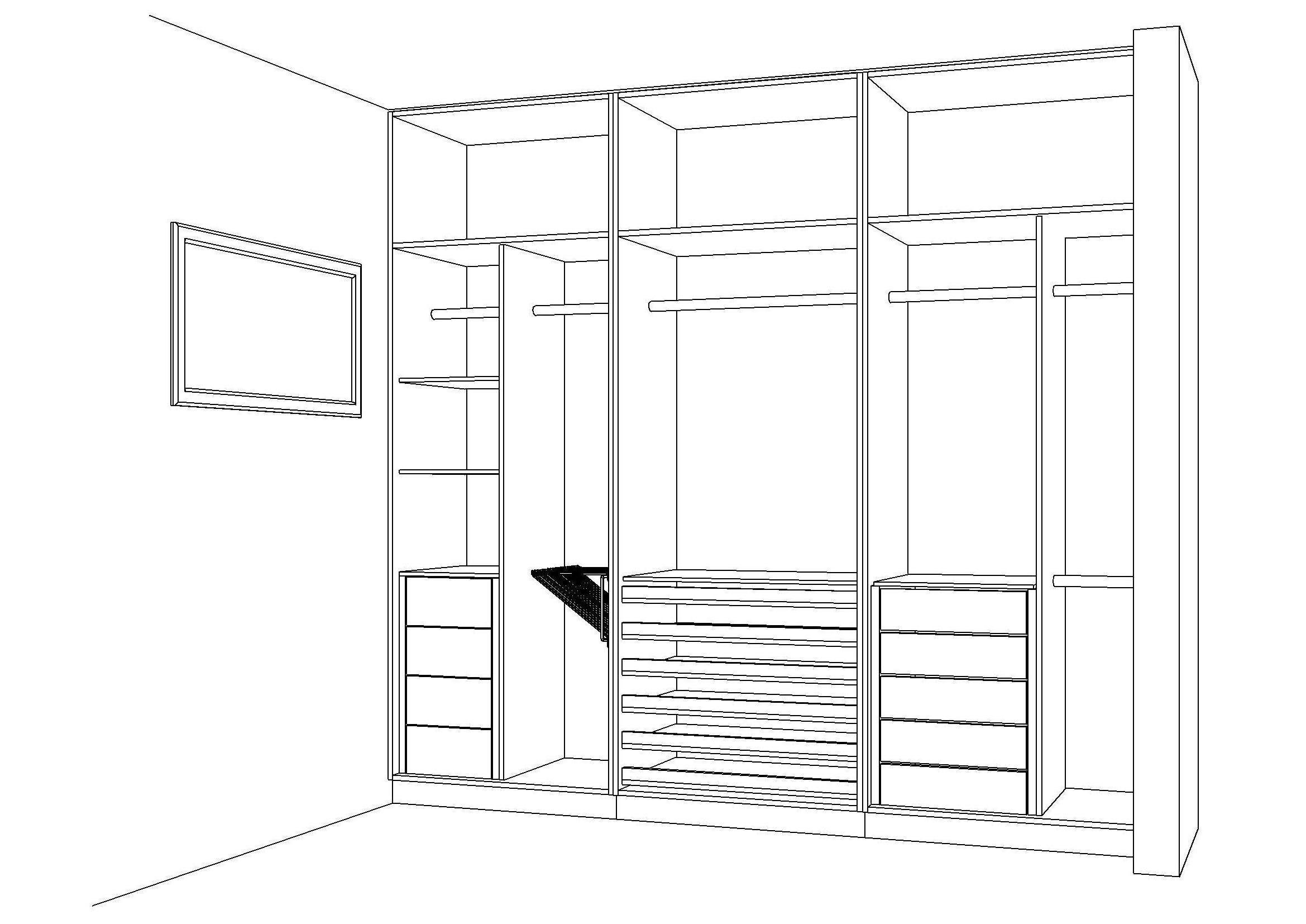 Visual Armarios Embutidos : Projetos de armarios embutidos para quarto