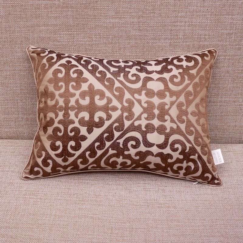 Wholesale European Luxury Imitated Silk Embroidery Sofa Cushion With Different Size Alibaba Com Cushions On Sofa Silk Embroidery Luxury