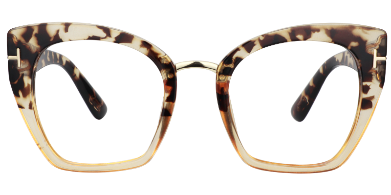 f7d6e39e4a2 Lulu Cat Eye Light Tortoise Glasses VFP0255-01 in 2019