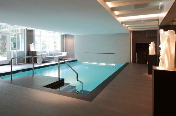 Go for a dip in Waldorf Astoria Amsterdam's indoor pool and feel your stress melt away.
