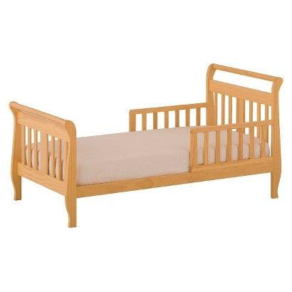 StorkCraft Soom Soom Toddler Bed - Natural | Toddler bed ...
