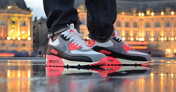 low priced c170e 5d76c Nike Air Max 90 Infrared Vintage