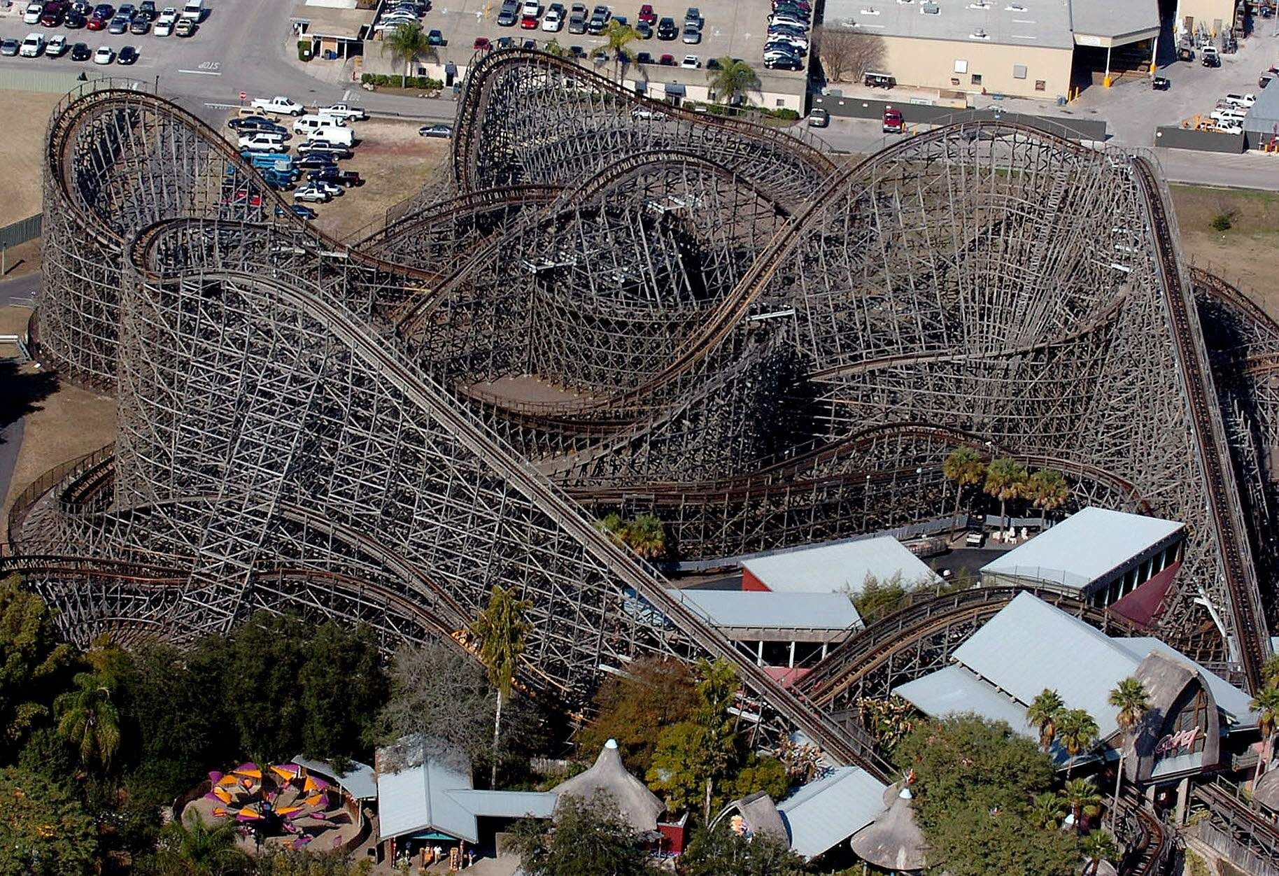 Busch Gardens Revamped Gwazi In 2011 In An Effort To Smooth The