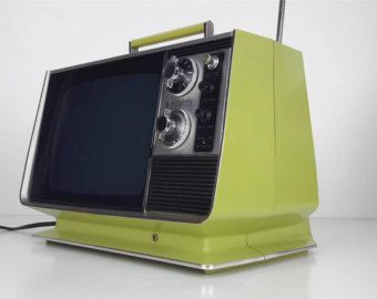 Television On Etsy A Global Handmade And Vintage Marketplace Vintage Television Vintage Tv Vintage Radio