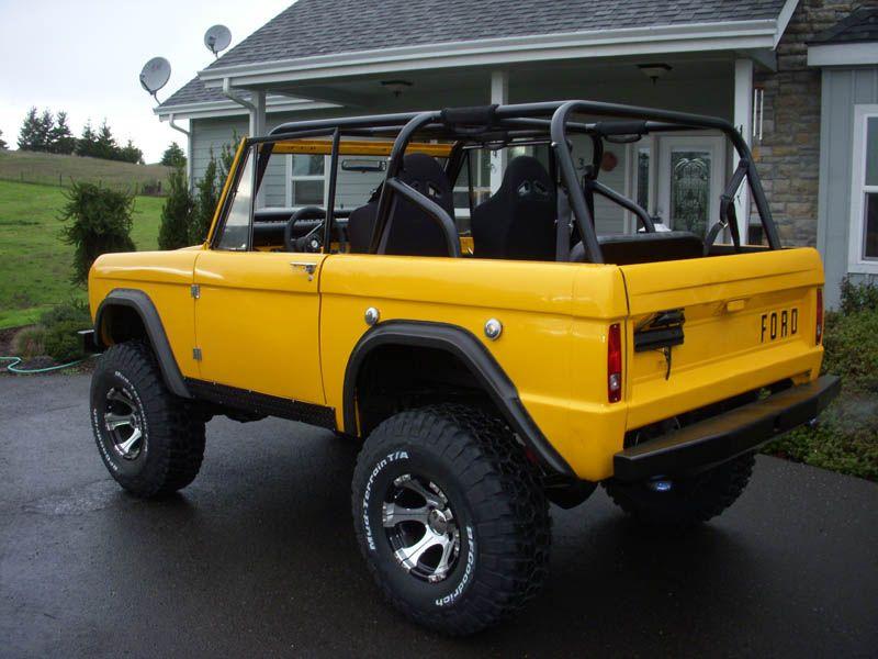1976 Bronco Fully Restored - Yellow | I like old Broncos | Pinterest ...