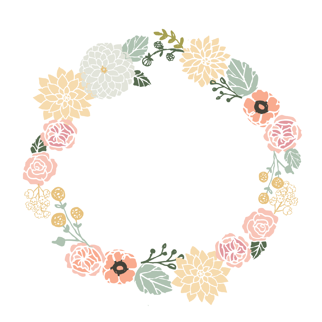 circle border flower freetoedit Sticker by
