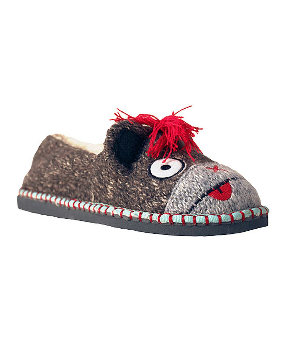 Love this TigerBear Republik Gray Monkey Hawk Beastie Slip-On Shoe by TigerBear Republik on #zulily! #zulilyfinds