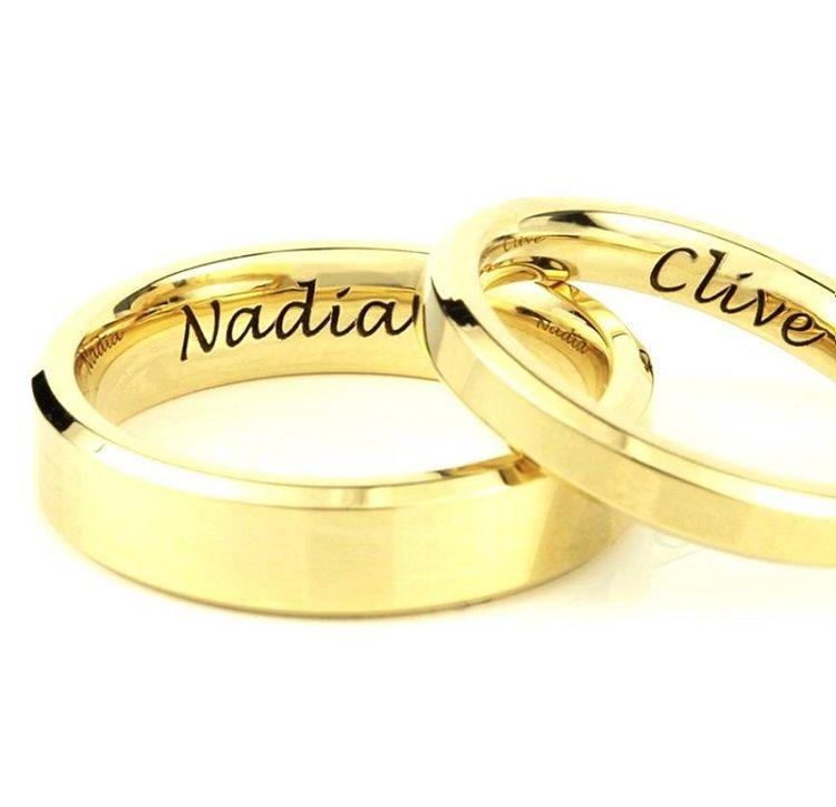 Kerala Wedding Ring Model Rings Wedding Rings Engraved