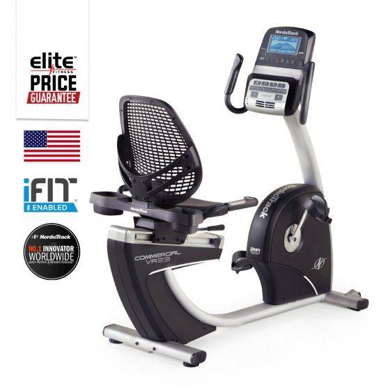 VR23 Pro Recumbent Exercycle