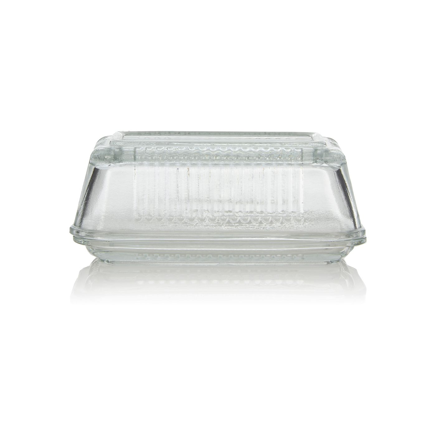 Food Storage Containers Asda Part - 47: George Home Glass Butter Dish | Utensils U0026 Gadgets | ASDA Direct
