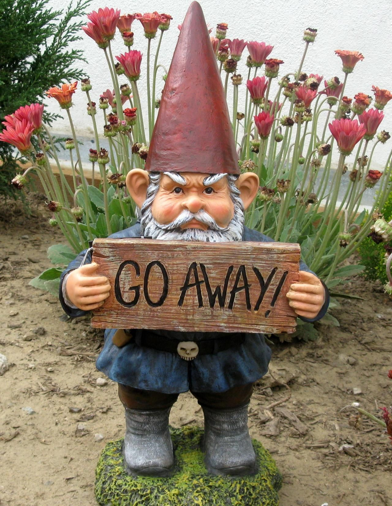 go away gnome excerpt more - Funny Garden Gnomes