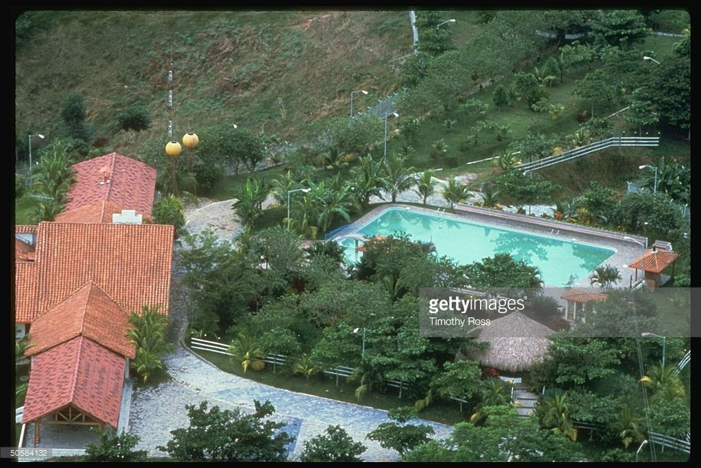 Aerial Of Lush Estate Of Pablo Escobar Gaviria Ldr Of Drug Cartel Pablo Escobar Pablo Escobar House Pablo Escobar Wealth