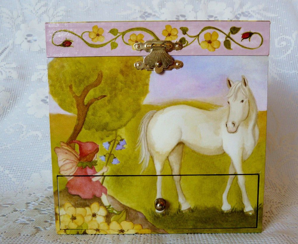 Enchantmints Horse and Fairy Music Jewelry Box Enchantmints eBay