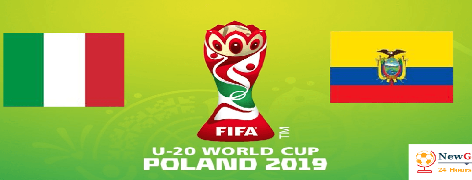 Italy U20 vs Ecuador U20 FIFA U20 World Cup 3rd Place Live