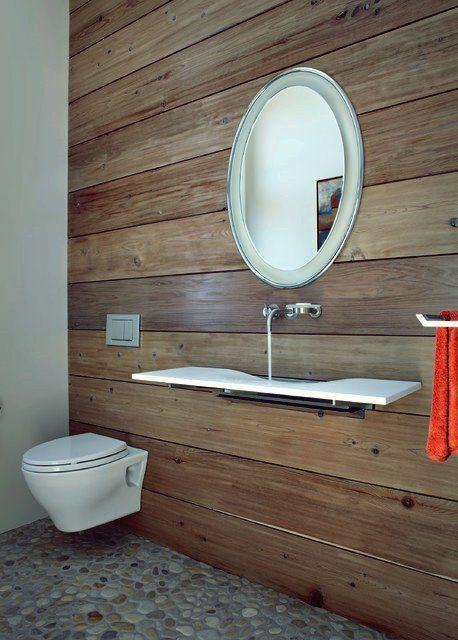 Minimalismus in Ihrem Zuhause Toiletten, Moderne