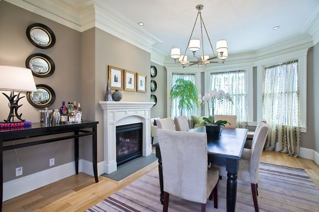 Renovated Edwardian has all the modern comforts Gas fireplace