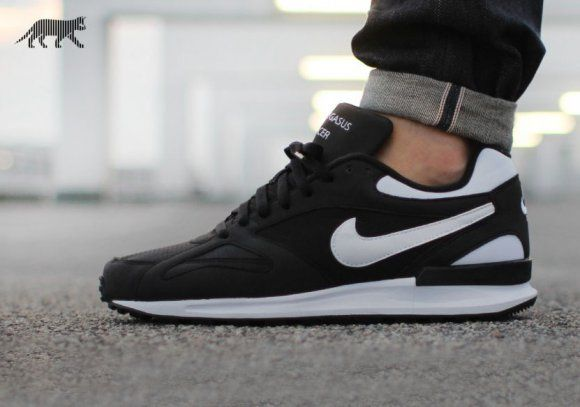 purchase cheap 6c2a3 d0a0e Nike Air Pegasus New Racer - Black White. Find this Pin and more on shoes  ...