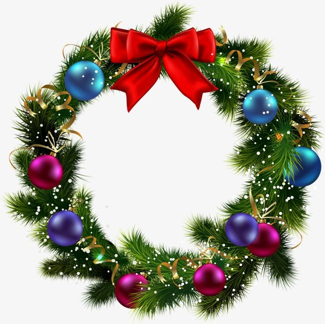 Christmas Wreath Christmas Wreath Clipart Creative Cartoon Png Transparent Clipart Image And Psd File For Free Download Christmas Lights Clipart Christmas Wreaths Christmas Wreath Clipart