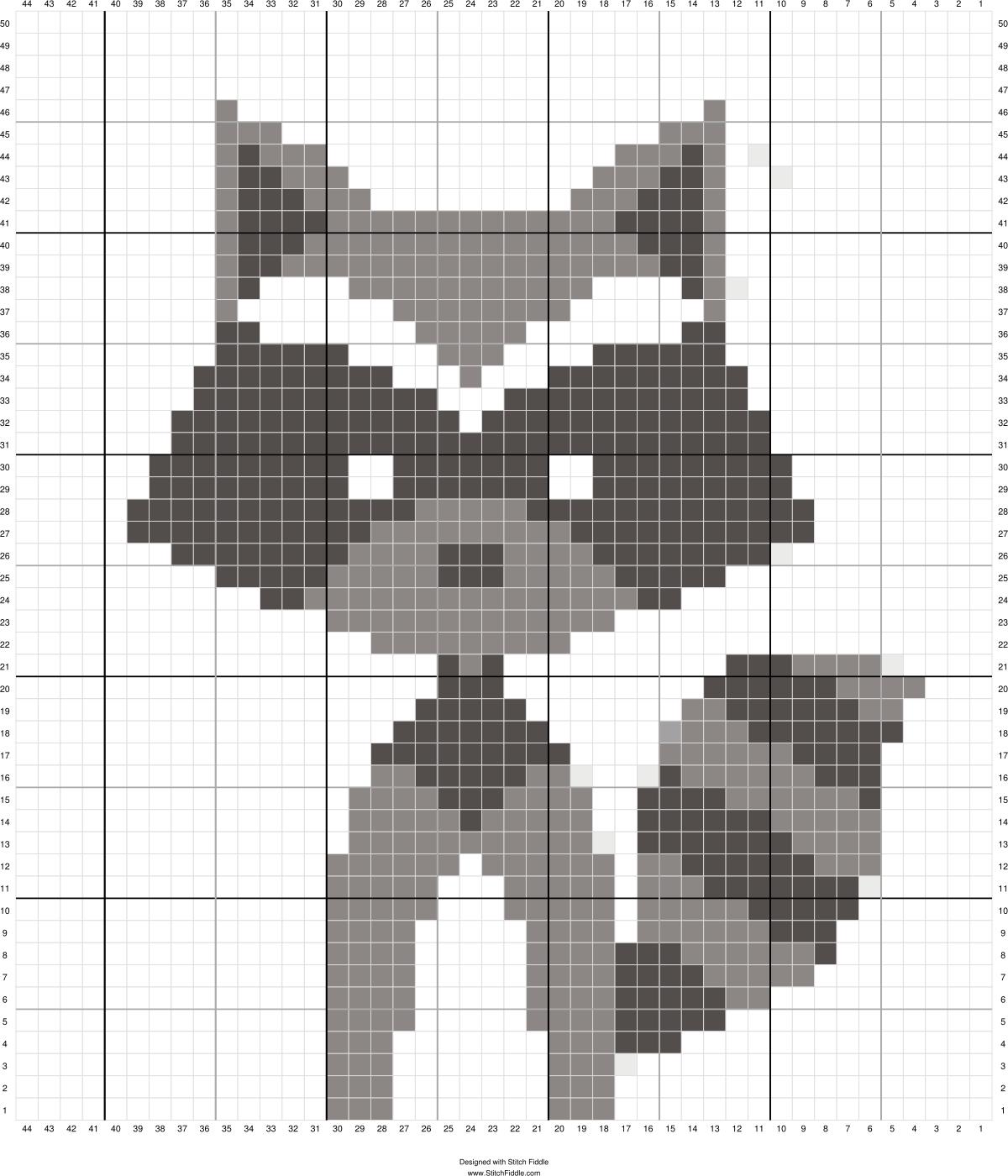 c2c crochet pattern - stitchfiddle.com   Crochet and Knit ...