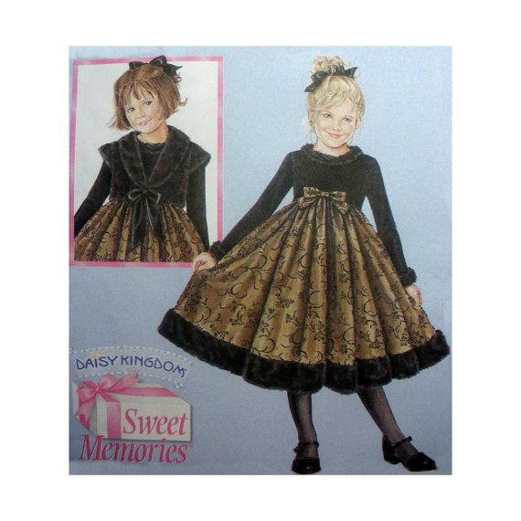 Girls\' Dress and Jacket Sweet Memories Collection Daisy Kingdom ...