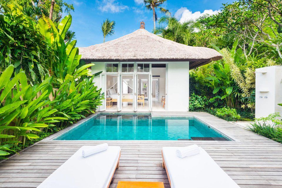 Como Uma Ubud Garden Pool Villa Private Pool Garden Pool Ubud Beautiful Hotels