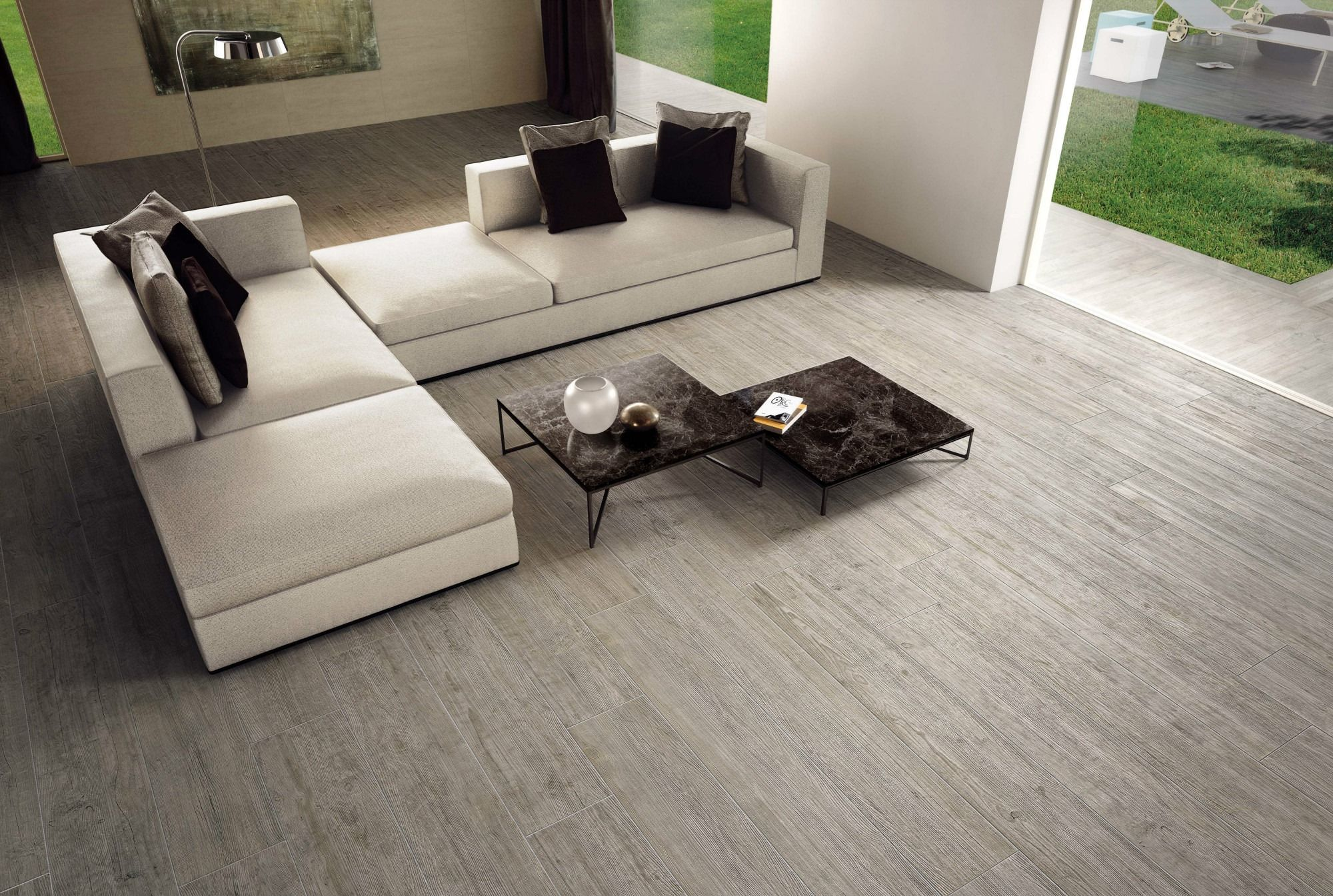 minoli - axis - floor tiles: axis silver fir 25 x 150 cm. this