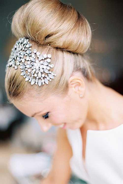 14.Hochzeit Hair Bun