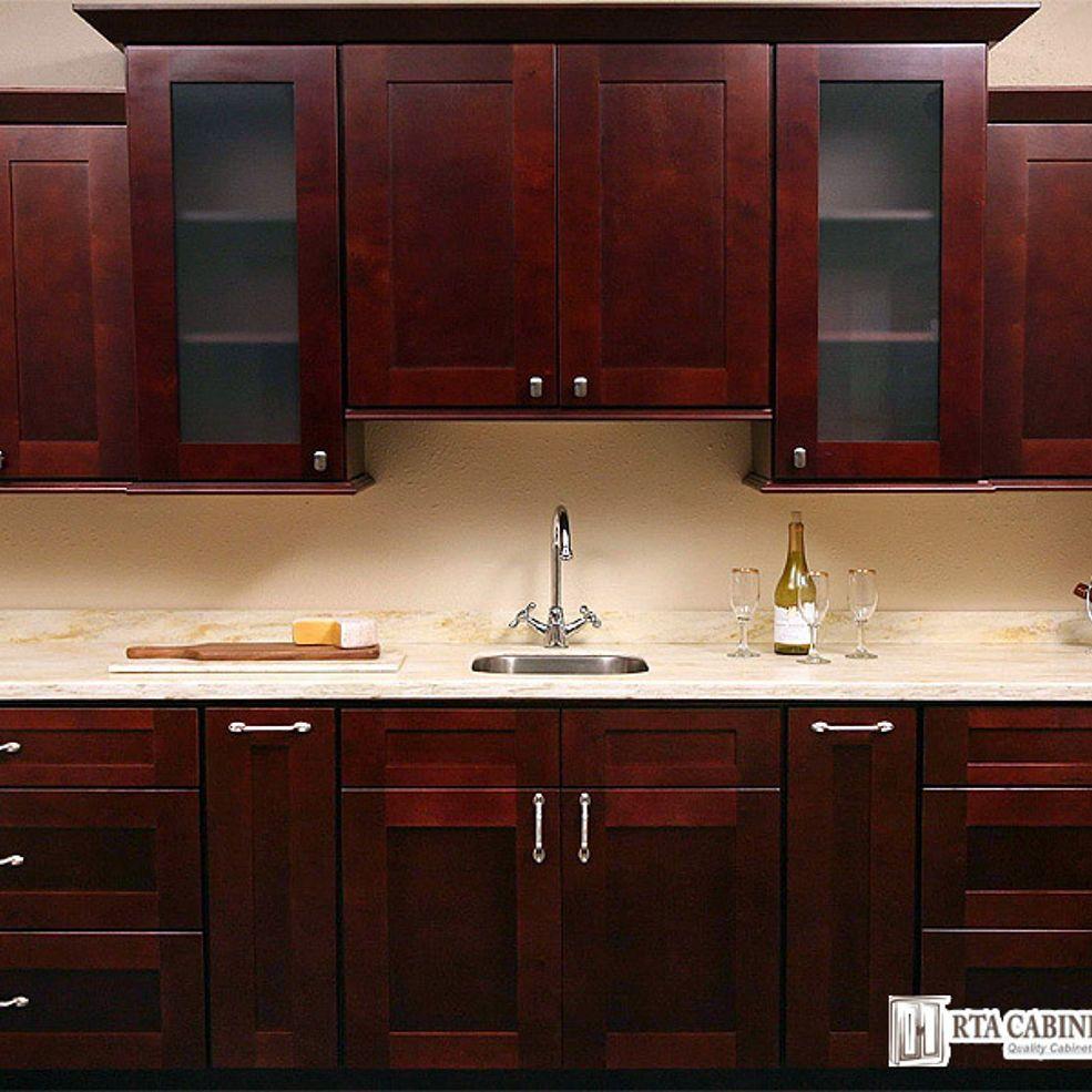 Largo Mocha Shaker Cabinets Kitchen Set Cabinet Assembled Kitchen Cabinets Shaker Style Kitchen Cabinets