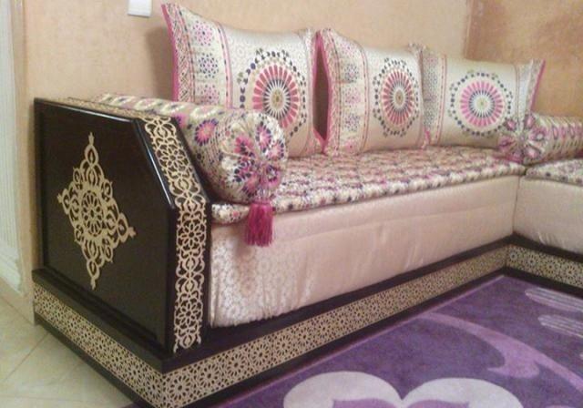 Salon maghribi - Deco salon marocain | Deco salon marocain ...