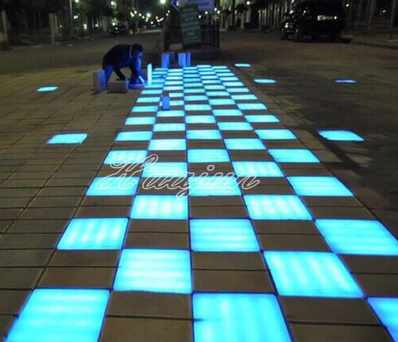 IP65 Outdoor Underground LED Brick Paver Lights, colorful led brick on