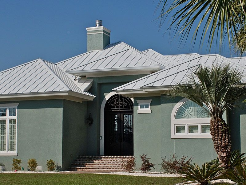 Best Residential Roofing Project Color Ash Gray Metal Roof 400 x 300