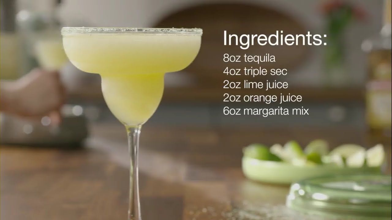 Frozen Margarita Recipe Margarita Recipes Pinterest Margarita