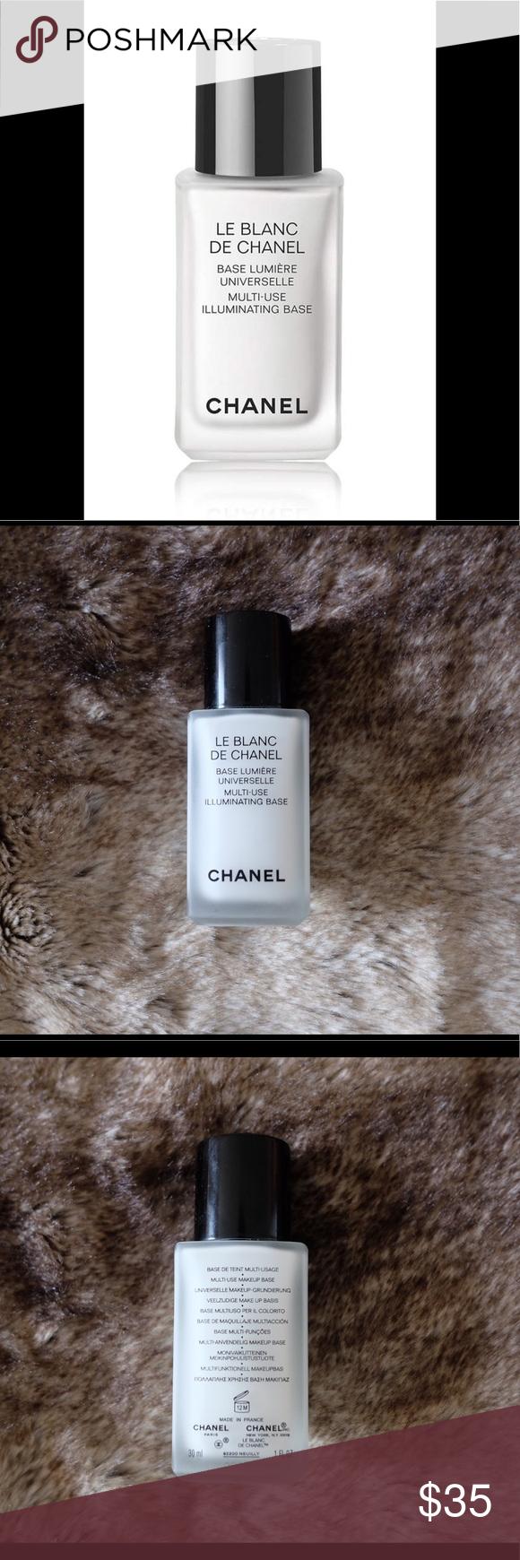 Chanel Le Blanc MultiUse Illuminating Base Primer A