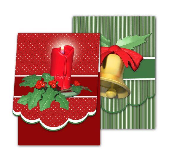 Christmas Gift Card Holders Printable Gift Card Holder Diy Christmas Gift Card Envelope Digital Holiday Mini Envelope Christmas Gift Card Printable Gift Cards Christmas Gift Card Holders