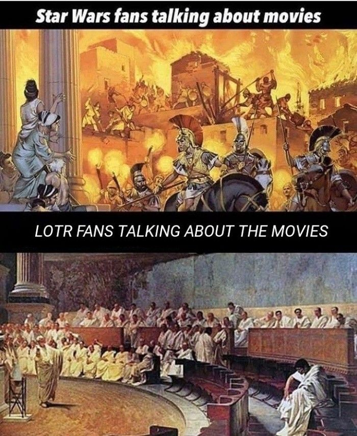 Star Wars Tolkien Lord Of The Rings The Hobbit Fandom Meme Hobbit Memes The Hobbit Lord Of The Rings
