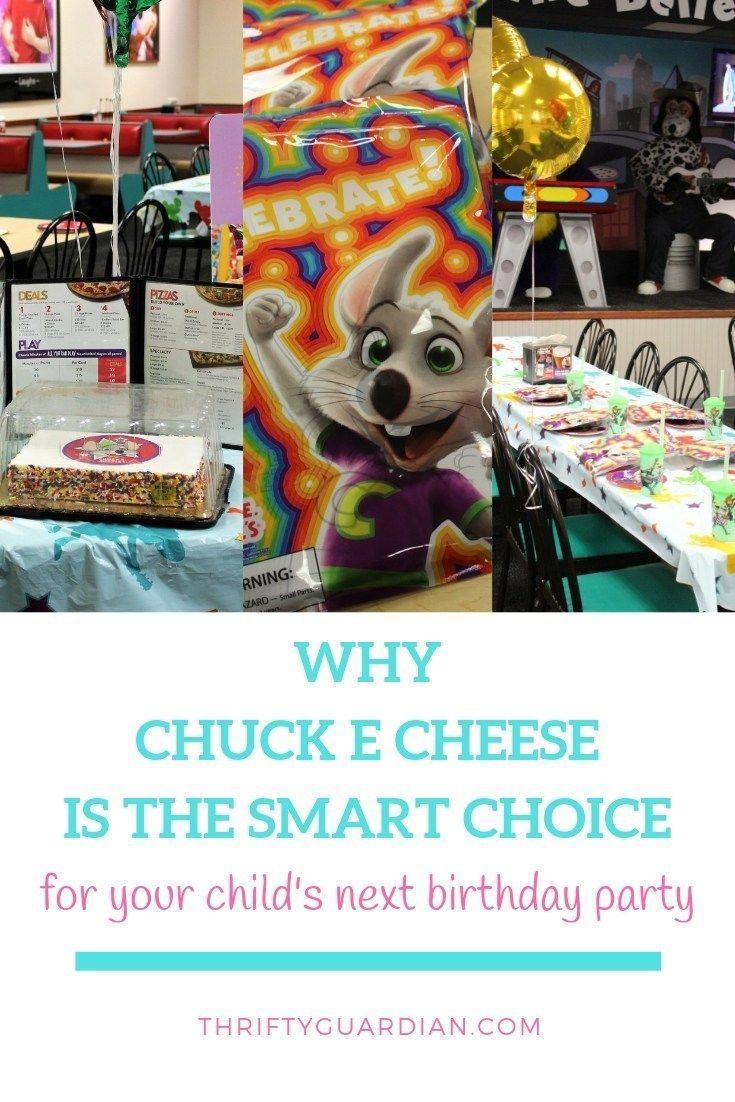 Chuck e cheese birthday party review chuck e cheese