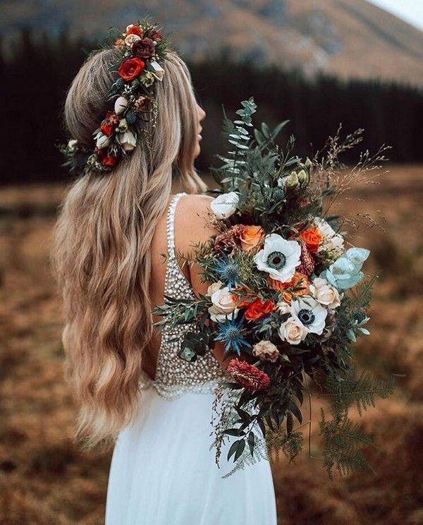 20 Herbst Hochzeit Bouquet Ideen für 2019 #fallweddingideas