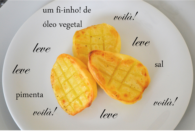 Receitas saudáveis / Batatas assadas - Leve e Saboroso